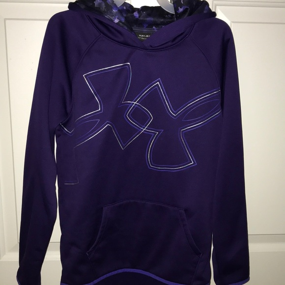 girls under armor hoodie